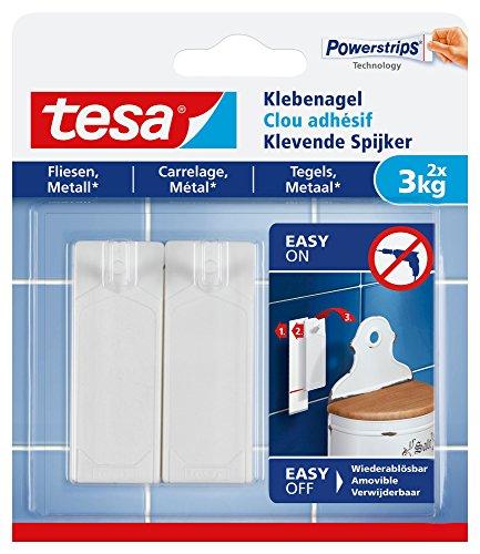 tesa Adhesive Nail for Tiles Metal, 3 kg (77763-00000-00)
