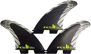 2020 FCS2 fin エフシーエスツー フィン CARVER PC CARBON TRI カーバー パフォ-マンスコアカーボン トライ AirCore エアコア [M/L] 3FIN ショートボード用 サーフボードフィン