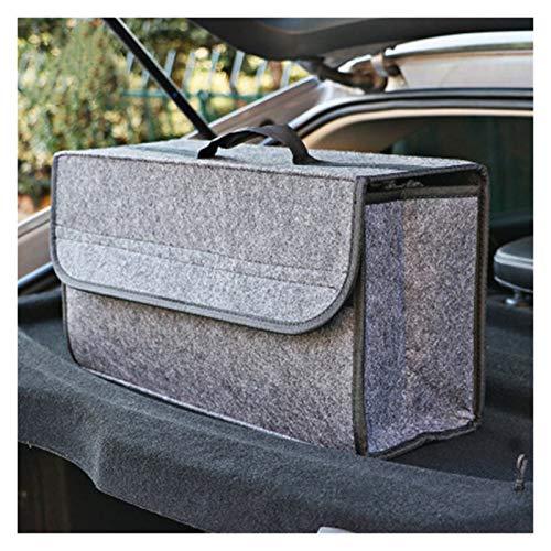 Caja de almacenamiento de fieltro de fieltro suave de lana de fuego ignífuga Caja de herramientas de vehículo Caja de herramientas Multi-uso Organizador Bolsa de alfombra plegable Organizador De Malet