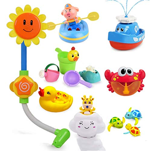 Amazing Deal Baby bath toys Crab Children's Water Toys Baby Shower Baby Shower Bath Toys Ducklings, ...