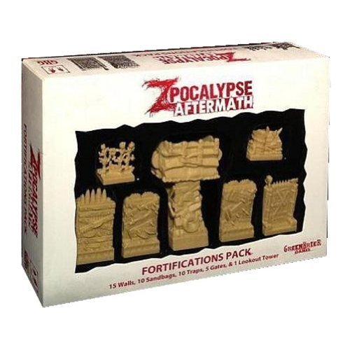 Zpocalypse Aftermath Fortifications Board Game by GreenBrier Games