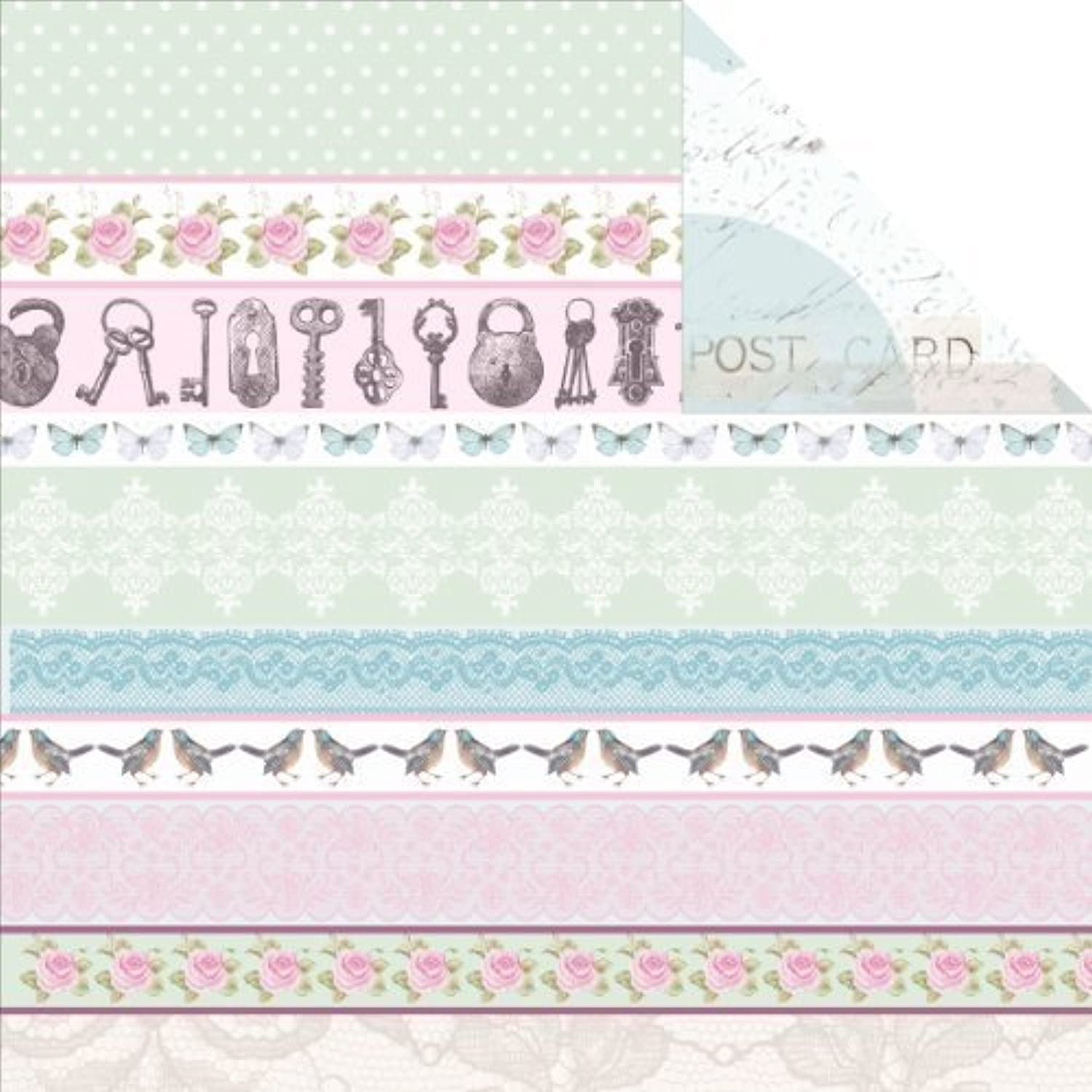 True Romance Double-Sided Cardstock 12 X12 X12 X12 -Affection 20 per pack by Notions - In Network B017RR1Z1Q   | Zuverlässige Qualität