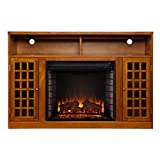 SEI Furniture Southern Enterprises Narita Media Electric Fireplace 48'...