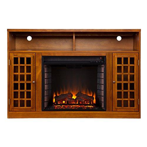 SEI Furniture Southern Enterprises Narita Media Electric Fireplace