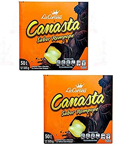 CANASTA DE CHOCOLATE /PRECIO POR DISPLAY 50 PZ C/U