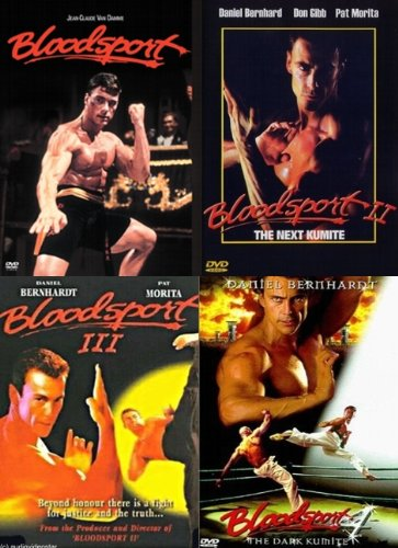 Bloodsport 1 2 3 4 - komplette Filmreihe - Sammleredition I,II,III,IV