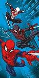 Spiderman - Toalla de playa oficial de Marvel   Toalla de playa supersuave,...