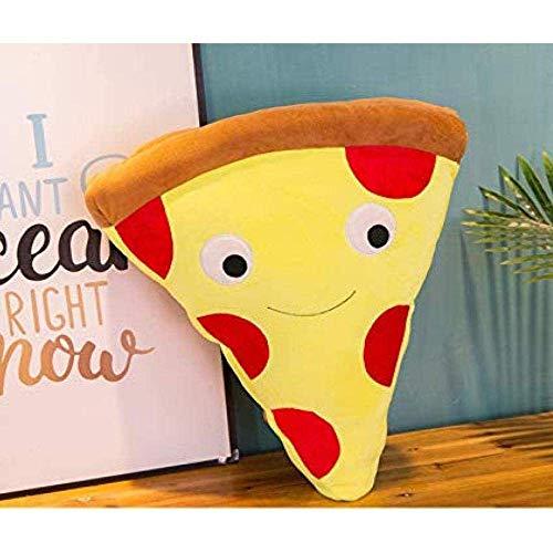 Plüschspielzeug Pizza Kissen Simulation Snack Puppe Spaß Cartoon Essen Essen Plüsch Spielzeug Männer und Frauen S Holiday Event Geschenk dedu