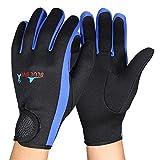 1 Paar Tauchen Handschuhe High Stretch Neoprenhandschuhe Neopren Tauchhandschuhe Schnorcheln Kajak...