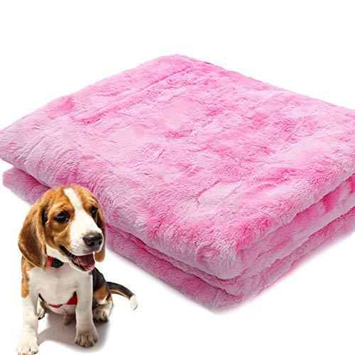 PET SPPTIES Hundedecke Haustier, Katzen Decke Haustiere Softe und Warme Haustiere Bed Für Hunde/Katzen PS075 (80 * 120cm, Pink)