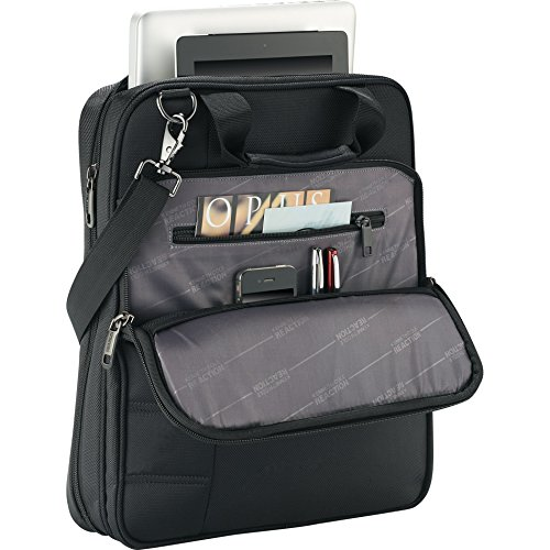 Check Out This Kenneth Cole Vert Checkpoint-Friendly 15 Laptop Messenger Bag- Black