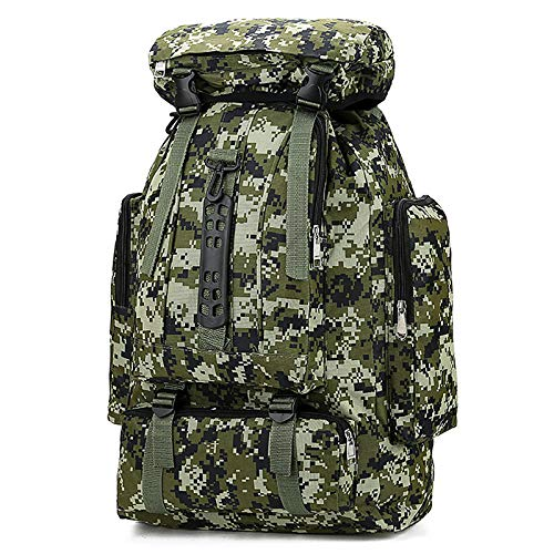 Military Tactical Backpack Army Style Rucksack, 70L Fishing Backpacks for Camping, Hiking, Trekking, Carp Fishing and Hunting Tactical Backpack