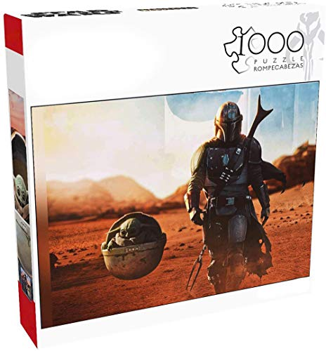 Mandalorian Jigsaw Puzzle 1000 Piece Mandalorian Jigsaw Puzzle are Gifts for Fans, Kids and Collectors
