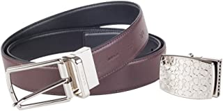 Coach Boxed Harness Plaque Cut-to-size Leather Belt