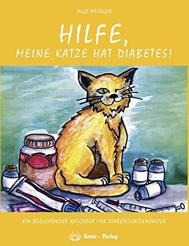 Hilfe, meine Katze hat Diabetes!: Ein begleitender Ratgeber für Diabeteskatzenhalter