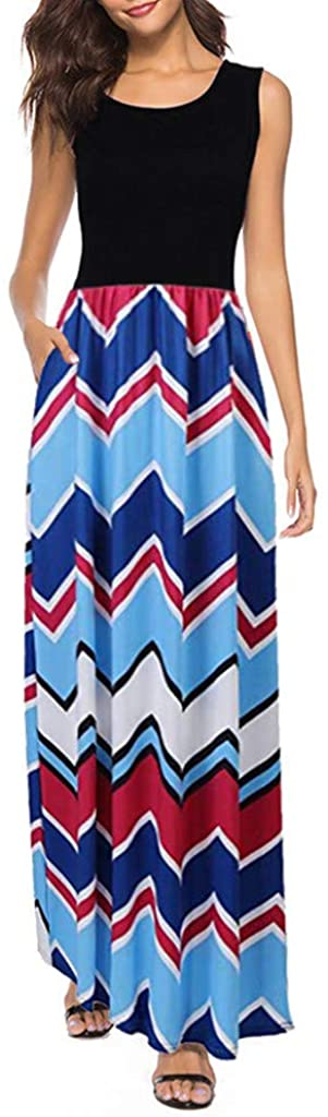 Maxi Dress for Women famous KYLEON Casual Sleeveless Spaghetti Opening large release sale Women's