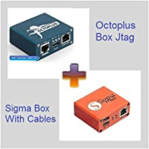 Octoplus Box Jtag with Sigma Box Bundle with Cable set
