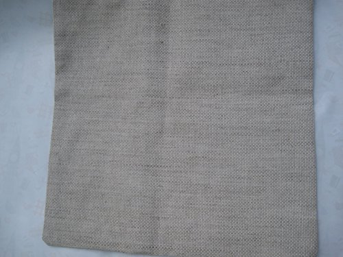 Funda de cojín, de punto de cruz tela funda de cojín, 11 ct lino aida tela de funda de cojín, en blanco de punto de cruz cojín de punto de cruz funda