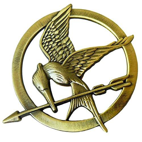 1 broche de imitación de Katniss Everdeen para cosplay de The Hunger Games