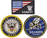 x3 Patch Navy...image