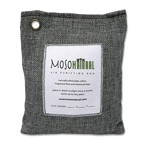 MosoNatural Bag・モソバッグ 200g 2年間消臭 夏にも最適 調湿機能 モソナチュラル 日本食品分析センターが...