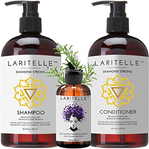 Laritelle Organic Hair Care Set Diamond Strong