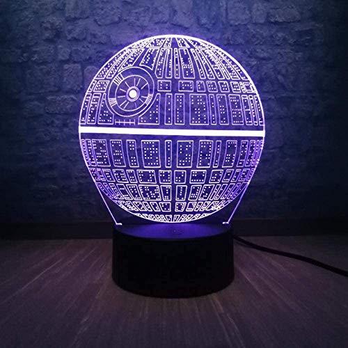 Plattform ultimative Waffe 3D LED mehrfarbige Tischlampe Teen Zimmer Nachtlicht Kinderspielzeug Weihnachtsgeschenke