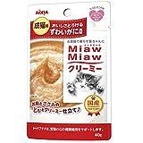 ミャウミャウ (MiawMiaw) クリーミー ずわいがに風味 40g×12袋入り
