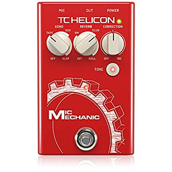 TC-Helicon TC Helicon TC Helicon VoiceTone Mic Mechanic 2 Reverb Delay & Pitch Correction Pedal