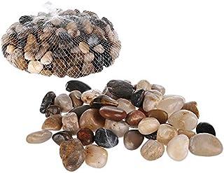 Invero - Piedras Decorativas pequeñas de Colores Naturales