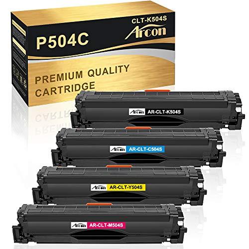 Arcon Kompatibel Toner Cartridge Replacement für Samsung CLT-K504S CLT-C504S CLT-M504S CLT-Y504S Samsung CLX-4195FN CLX-4195FW CLX-4195N CLX-4195 CLP-415NW CLP-415N Samsung Xpress SL-C1860FW SL-C1810W
