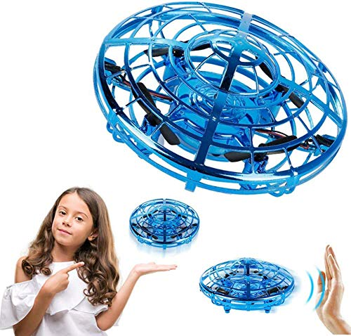 Mini UFO Drone Toy, Handgestuurde Drone voor Kinderen Mini Flying Ball Toys Infrarood Inductie Afstandsbediening Vliegende Vliegtuigen met 360 ° Rotatie Cadeaus voor Jongens Meisjes Volwassenen