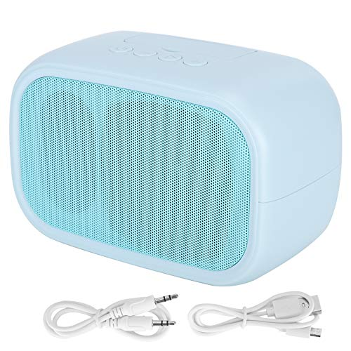 Gedourain Haut-Parleur sans Fil Haut-Parleur Durable et Portable pour Les appareils Doubles(Bleu)
