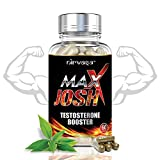 Nirvasa Maxx Josh Testo booster Supplement for Men for Improved Energy and Better Workouts – 60 Capsules, Pack of 1