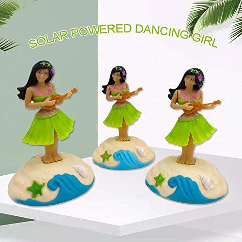 asterisknewly Solar Wackel Figur, Solar Tänzerin Schaukel Animation Blase Tänzer Spielzeugauto Dekoration Kind Spielzeug Geschenk