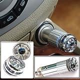 MEDIA WAVE store Ionizzatore purificatore d'Aria Deodorante per Auto (Grigio)