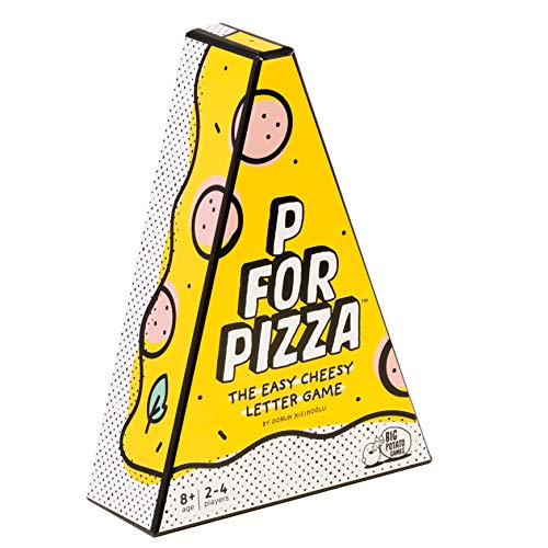 P for Pizza: A Word Race to Build a Giant Pizza Slice | Best New Family Board Games