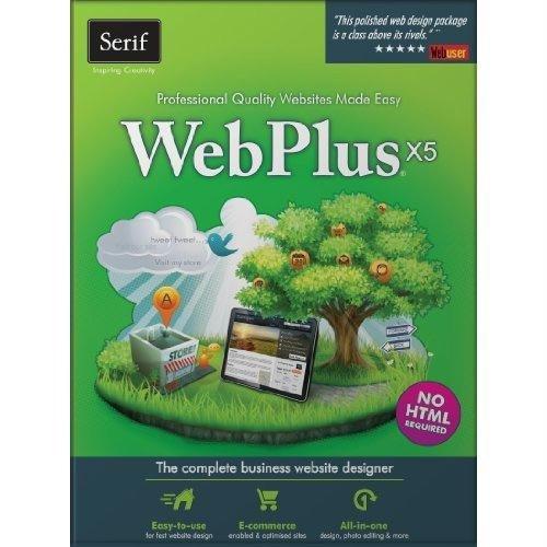 Serif WebPlus X5 - Professional Sites Made Easy