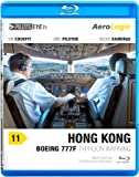 PilotsEYE.tv | HONGKONG | Cockpitmitflug B777-F | AeroLogic | 'Typhoon warning' | Bonus: Best of KaiTak approaches [Blu-ray]