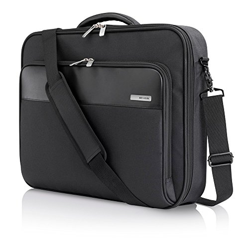 Belkin F8N205 Protective Business Clamshell Bag for Laptops, Macbooks and Chromebooks up to 17 inch - Black