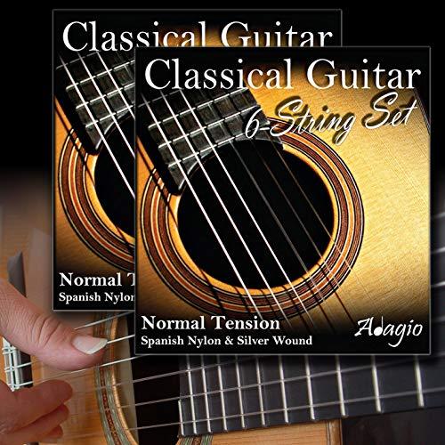 Adagio 2 SETS Professional Classical Nylon Guitar Strings