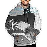 Ysahcj LCD Soundsystem This is Happening Mens 3D Hoodie Sweatshirt XL White