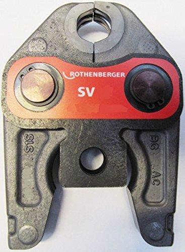 ROTHENBERGER Pressbacke Standard Auswahl V SV 12 15 18 22 28 35 Romax Presszange