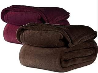 FIRE Retardant Blanket (Chocolate, Twin)