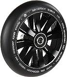 Revolution Supply Co. Stunt-Scooter Twin Hollowcore Rolle Abec9 Wheel 110mm +Fantic26 Sticker (Schwarz/Pu Schwarz)