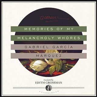 Memories of My Melancholy Whores audiobook cover art