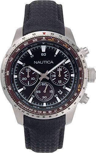Nautica Pier39 - Reloj cronógrafo deportivo para hombre, cód. NAPP39001