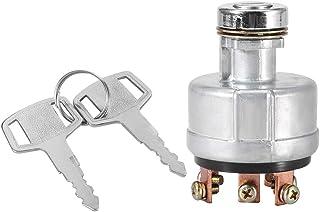 EBTOOLS Commutateur de démarreur d'allumage de voiture avec 6 clés de conducteur de fil terminal