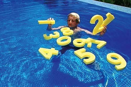 Kinder Pool Spielen Polyethylen Schaumstoff Zahlen Kinder Fun Toys Set der Zahl 10
