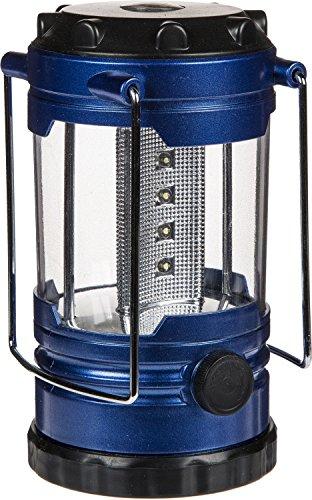Lampe de camping Led Lampe de camping outdoor Lanterne Tente Camping Lanterne Lampe avec boussole 13–8 cm, bleu